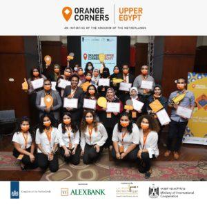 Orange Corners Egypt celebrates graduation of first 28 entrepreneurs in Cairo and Assiut